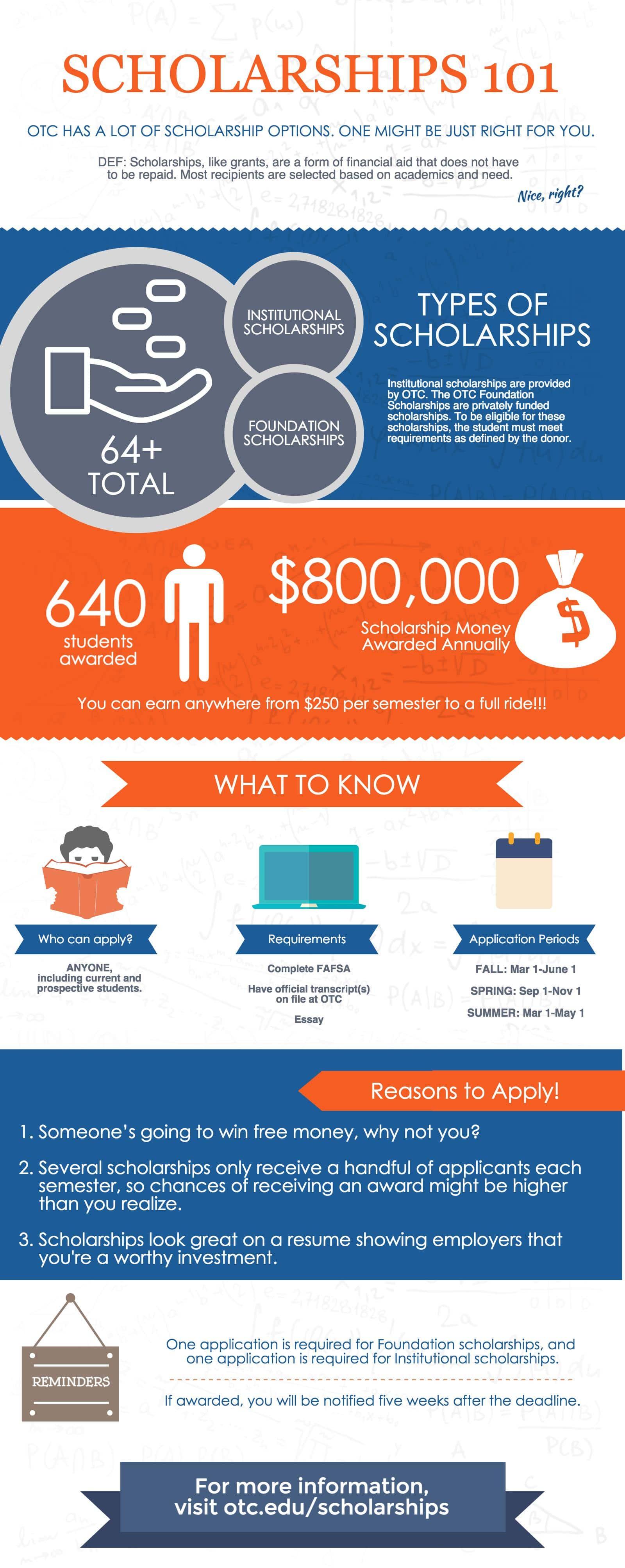 otc foundation scholarships
